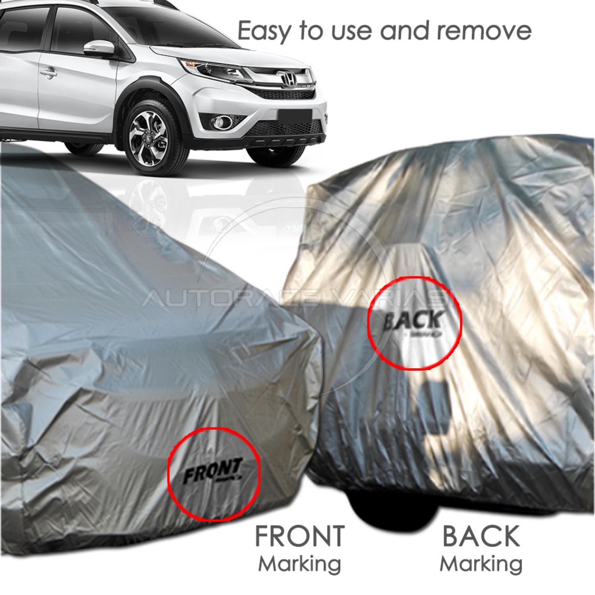 ... Impreza Body Cover Mobil For BR-V - Abu-abu ...