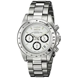 Invicta Men's 9211 Speedway Collection Stainless Steel Chronograph Watch with Link Bracelet - intl