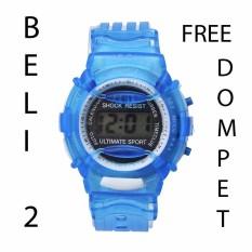 Jam Tangan Anak Digital Blue Fashion Import
