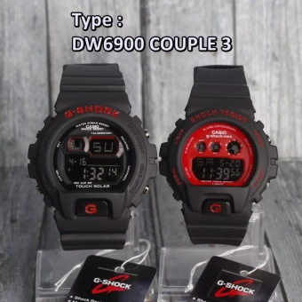 Jam Tangan Couple G Shock & Baby G GA110 Couple Dual Time Digital Analog