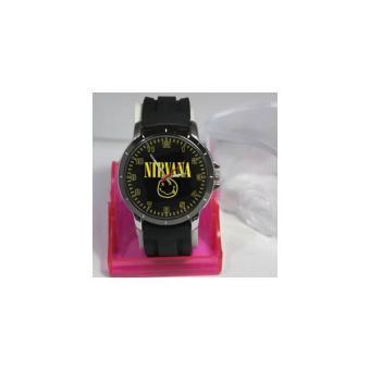 Jam Tangan Custom New Design Band Nirvana Art2