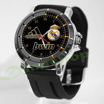 Jam Tangan Custom Real Madrid Gokil