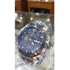 Jam tangan Expedition 6402 MC original Stainless Steel Hitam Rose Gold