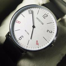 Jam Tangan Expedition E6703MSW Silver White Expedition Natural Unisex
