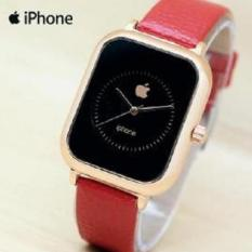 Jam tangan Iphone wanita fashion leather strap