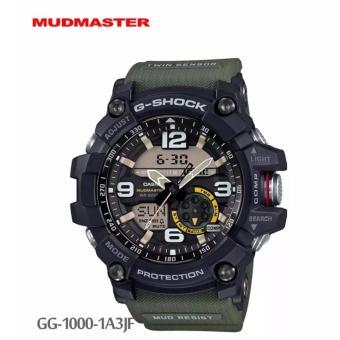 Jam Tangan Pria Casio G-Shock GG-1000-1A3Jf Mudmaster - Green