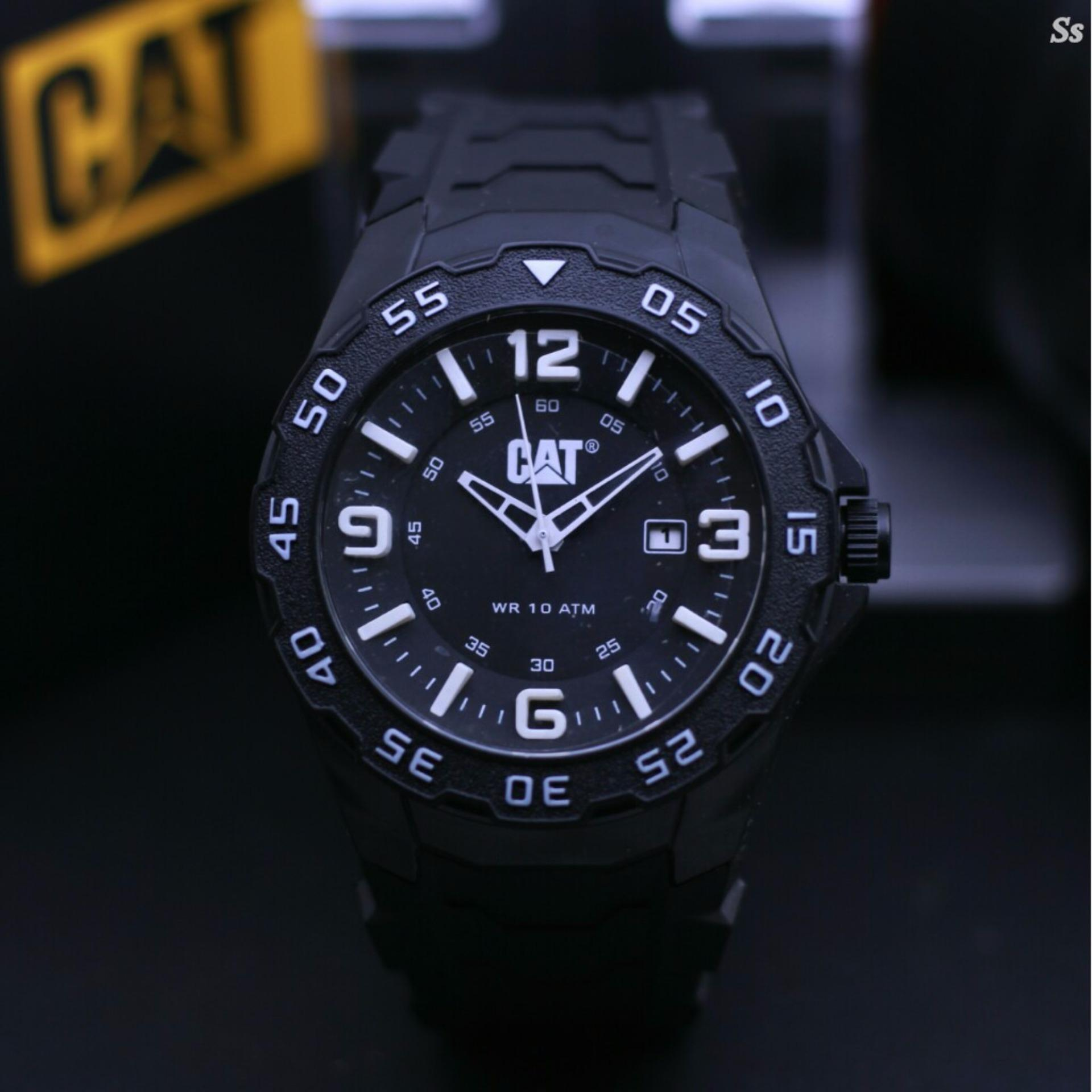 Jam tangan Pria Model Trendy Casual Leather strap kualitas super