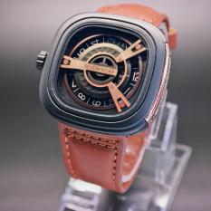 Jam tangan Pria - Model Trendy - Edisi Eklusif - Menarik - Kasual - Tali Kulit