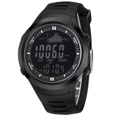 Jam tangan pria NORTHEDGE jam tangan digital dengan prakiraan cuaca alat pengukur ketinggian Barometer pengukur suhu untuk mendaki memancing olahraga luar ruangan