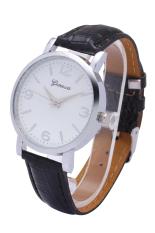 Jenewa 3170 baru gaun vintage kulit wanita jam tangan jam kuarsa (Kelabu)IDR48000.