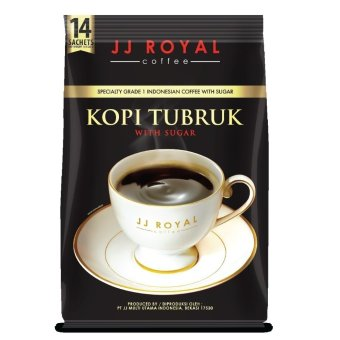 JJ Royal Coffee Kopi Tubruk 2in1 With Sugar Bulkbag @14 Sachets