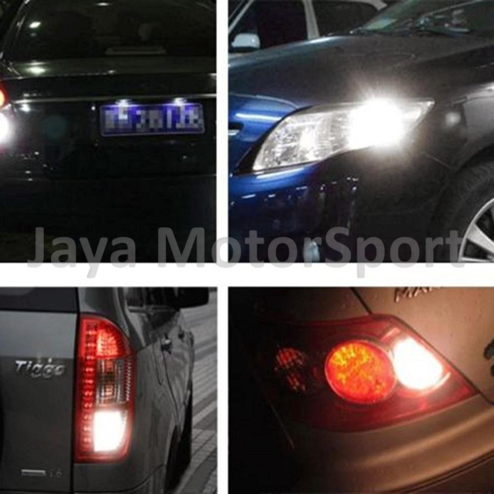 JMS - 1 Pair (2 Pcs) Lampu LED Mobil / Motor / Sejna T10 ...