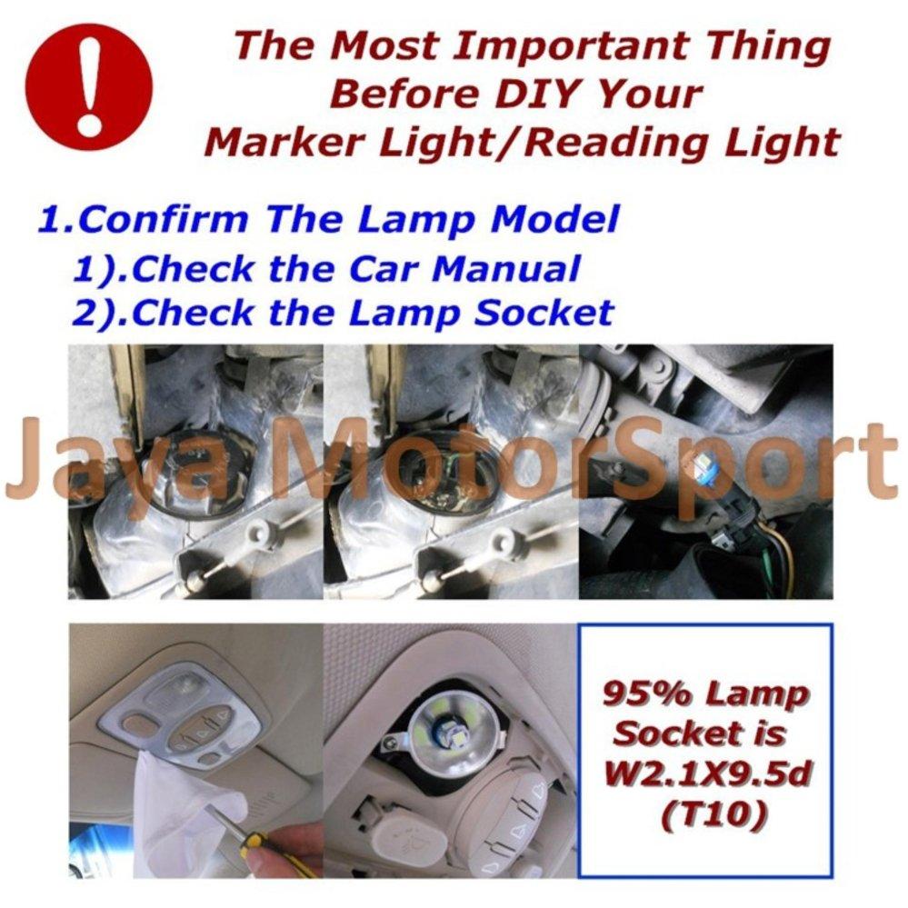 ... JMS - 1 Pair (2 Pcs) Lampu LED Mobil / Motor / Senja ...