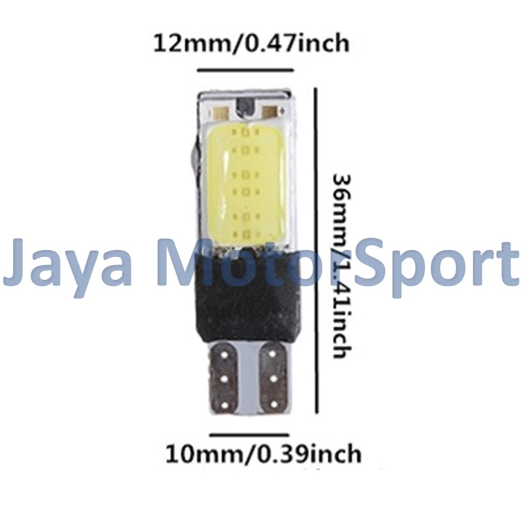 ... Motor / Senja T10 w5w / Wedge Side. Source ... JMS - 1 pair (2 pcs) Lampu LED Plasma Mobil /
