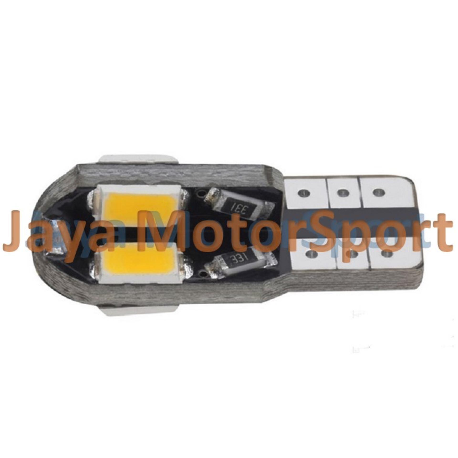 JMS - 1 pcs Lampu LED Senja T10 / Wedge Side Canbus 8 .