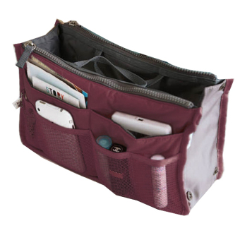 In menyisipkan agenda wisata Tas Wanita Tas tangan besarpenyelenggara rapi di dalam tas kantong