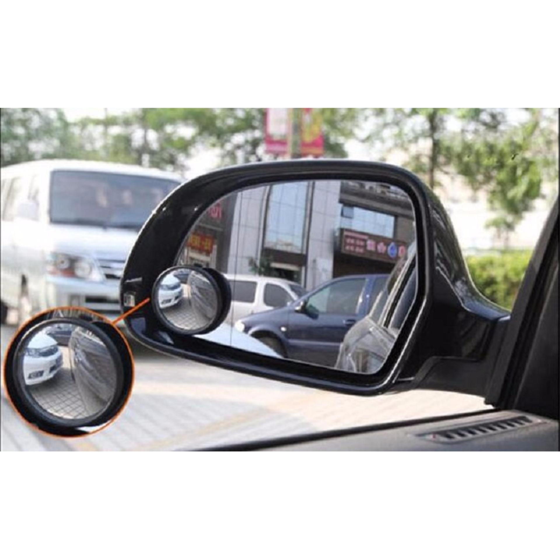 KACA SPION PUTAR MINI Tambahan Blind Spot Mirror Mobil Motor