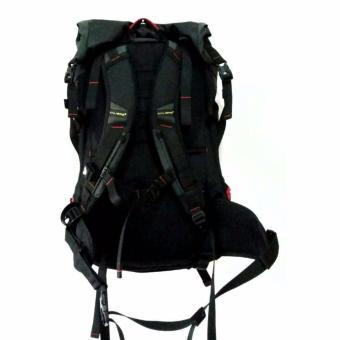 Kalibre Metroplex 02 Tas Ransel Laptop Outdoor Adventure Daypack Bacpack Abu Hitam 910402 .