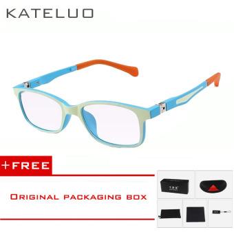 KATELUO TR90 tempat anti-Komputer Biru kelelahan laserradiasi-tahan  kacamata bingkai kacamata anak 1021.      bf55712193