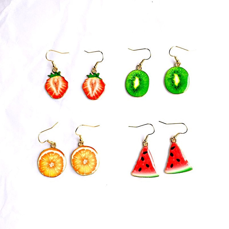 Kecil segar buah semangka strawberry anting