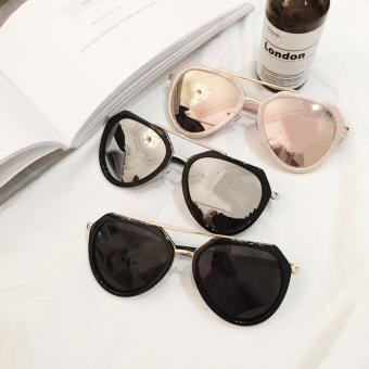 Harga Termurah Kekuatan lingkaran merah muda terlihat baik kecil kacamata hitam kacamata hitam Harga Termurah