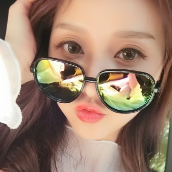 Pencarian Termurah Keren Hyun pecinta mode pantai avant-garde kacamata hitam Flash Sale