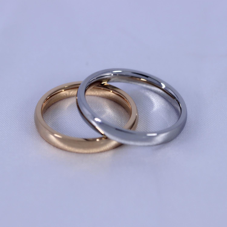 Cheap online Klasik Jianyue pria dan wanita ayat yang sama cincin pasangan pada cincin