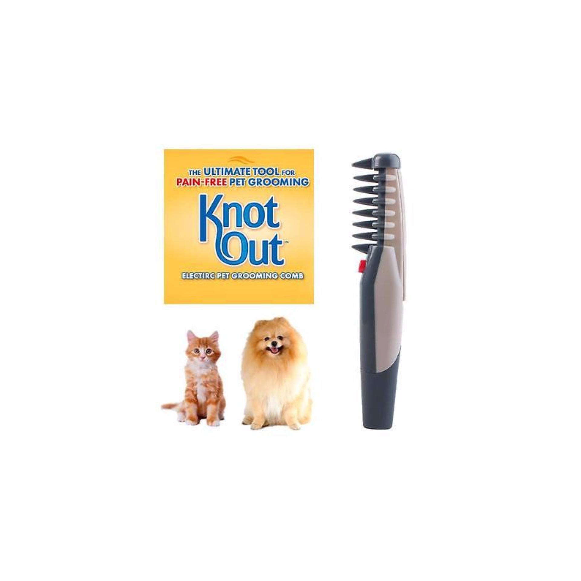 Knot Out Electric Pet Grooming Comb - Sisir Grooming Electric