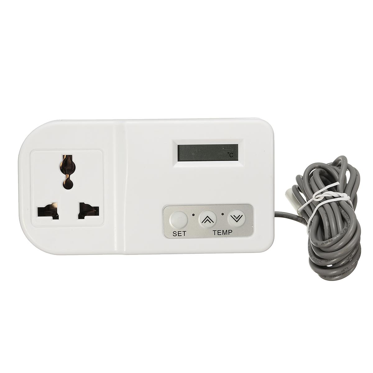 Kulkas termostat Digital pengontrol suhu untuk akuarium rumah kaca Inggris - International