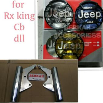 ... Track Swing Arm - Lengan Ayun Stabiliser F1ZR - FIZ R - Poswan. Source · kuping lampu plus reflektor jeep 4x4 super rx king cb dll mika Biru