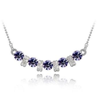 Putri Cincin Anting Kalung Kotak Perhiasan Kotak Perhiasan. Source · La vie perhiasan 925 Sterling Perak zirkon cinta pasangan kalung(Ungu)