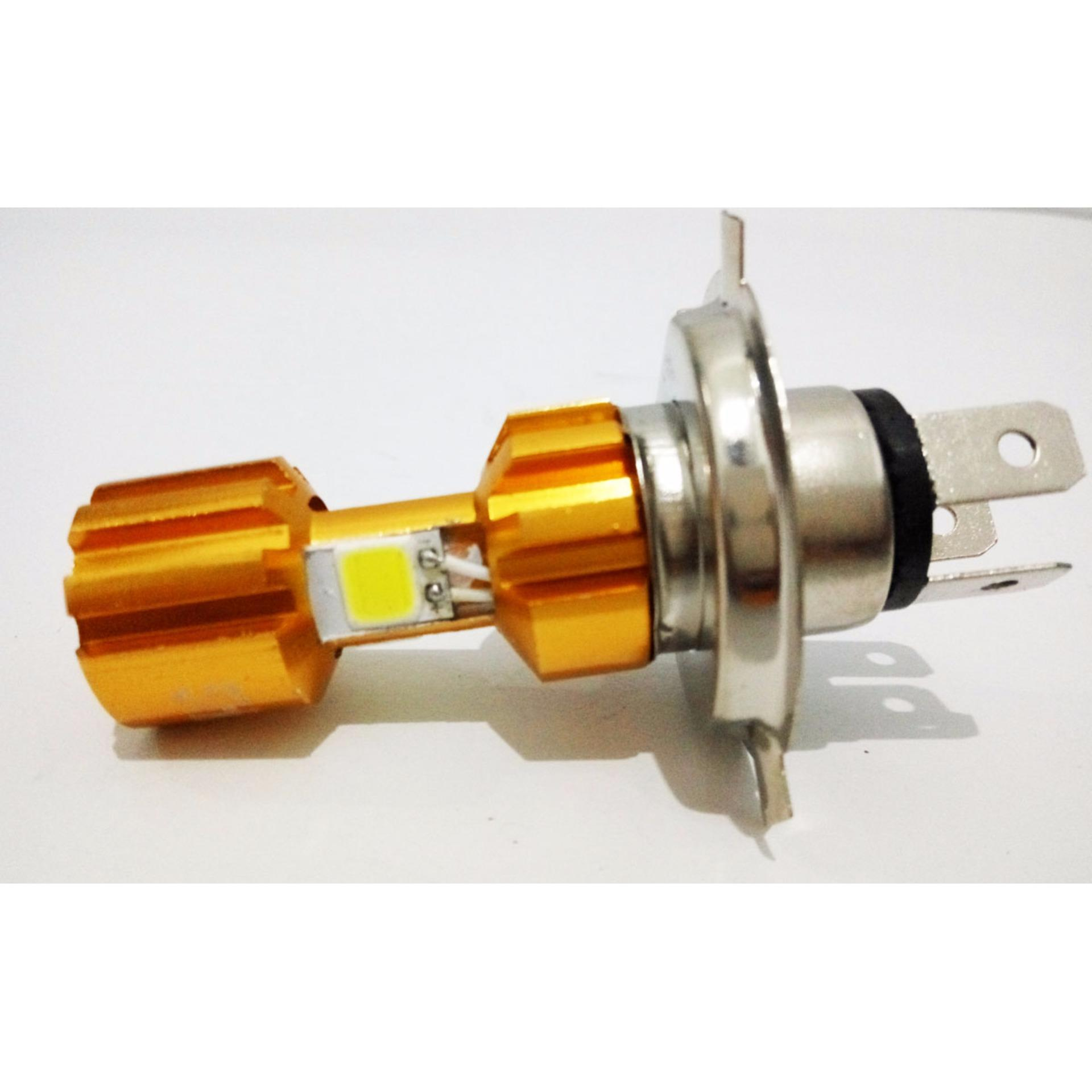 Rtd Lampu Motor Mobil Led 3 Sisi 30w H4 Hs1 H6 Acdc 6000k Cek 40 Watt Emiter Dc Hi Lo Cahaya Putih