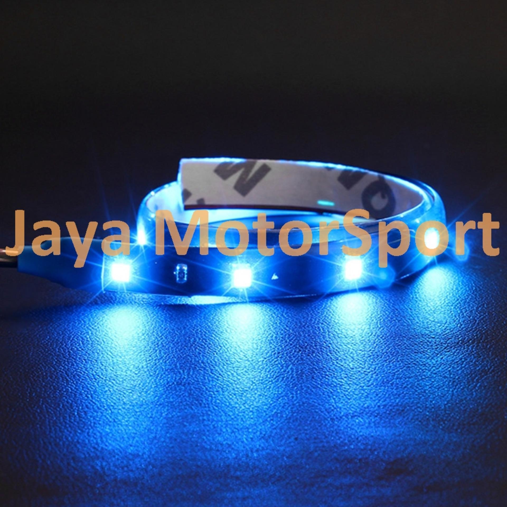 Lampu LED Daytime Running Light / DRL Mobil / Motor 15 SMD 505030cm .