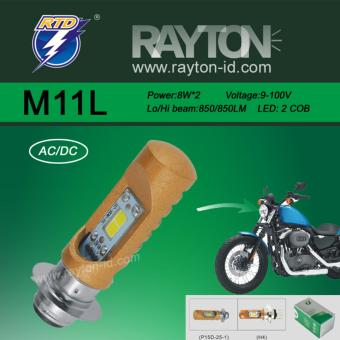 Lampu Utama Headlamp Bohlam LED RTD M11L Original