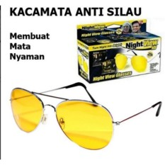 Lanjarjaya Kacamata Malam Anti Silau Night View Sunglasses