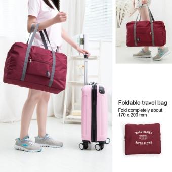 Large Travel Bag Waterproof Storage Bag Luggage Folding Handbag Shoulder Bag Organizer - intl