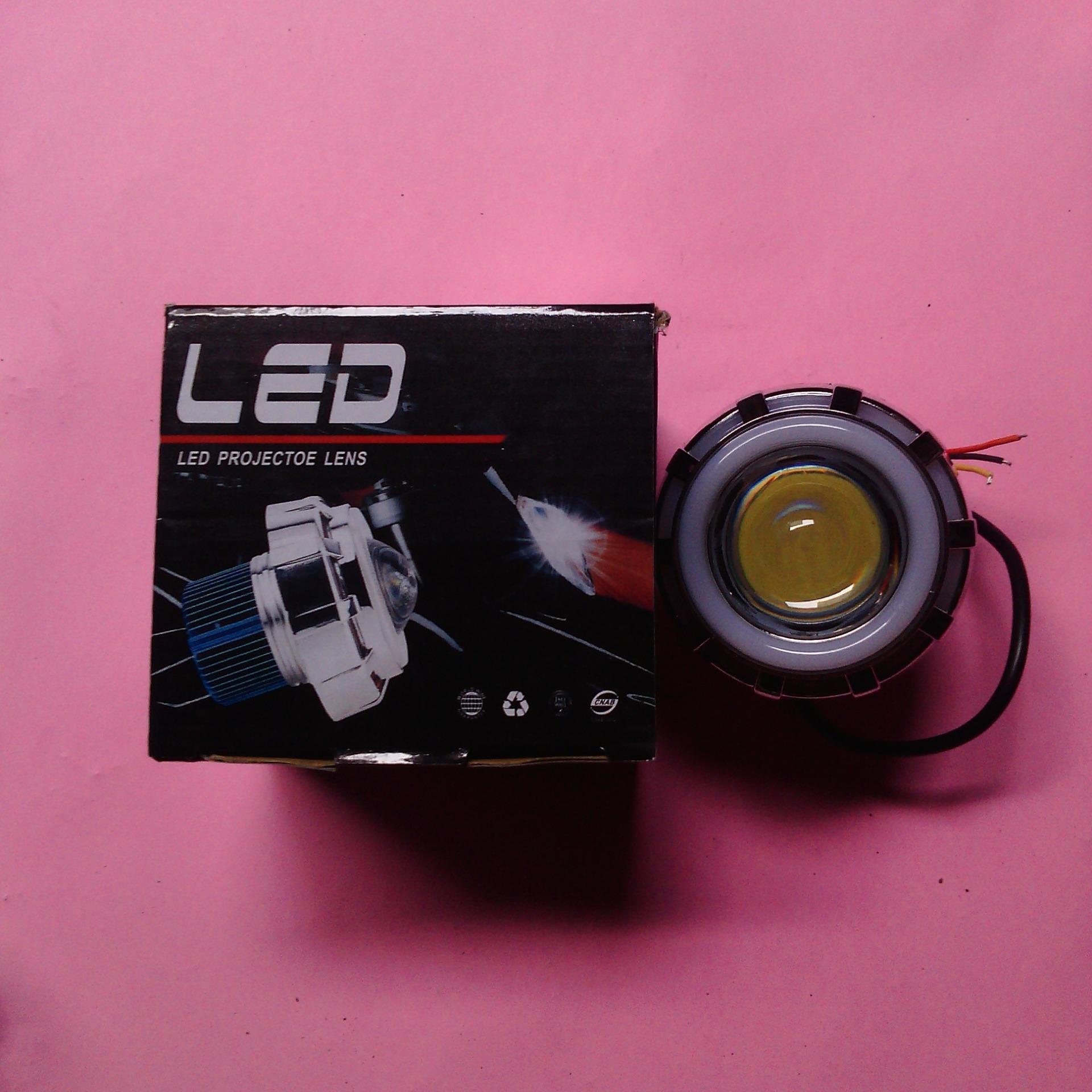 LED Proji Light Angel Eye+Devil Eye / Lampu Proji LP6 / LED LampuProjector
