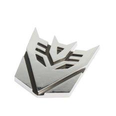 Logo mobil terbaik mobil krom pemimpin Decepticon Transformer lencana lambang 3D LogoIDR33000. Rp 34.000
