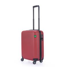 Lojel Rando Zip Koper Hardcase 55 cm/21 Inch - Merah - Gratis Pengiriman Seluruh Pulau Jawa