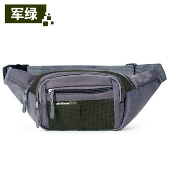 Luar ruangan mendaki olahraga tas pinggang berjalan tas kantong kantong Mini
