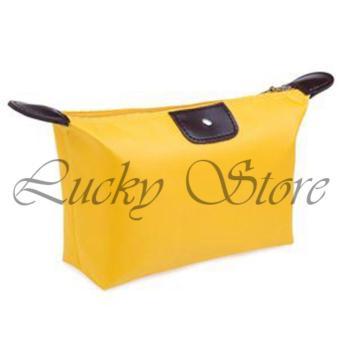 Lucky Tas Kosmetik Mini Cosmetic Bag Kuning .
