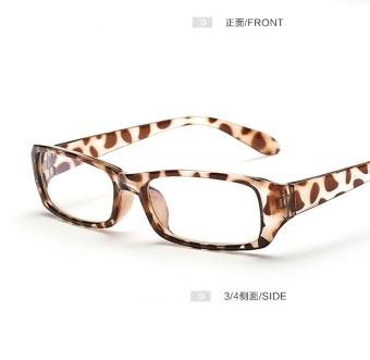 Harga Lucu perempuan kacamata besar cermin polos gelas radiasi ... 6b41119f7e