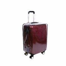 Luggage PVC Transparan Cover Mika Koper Sarung Pelindung ukuran  [24 Inch]