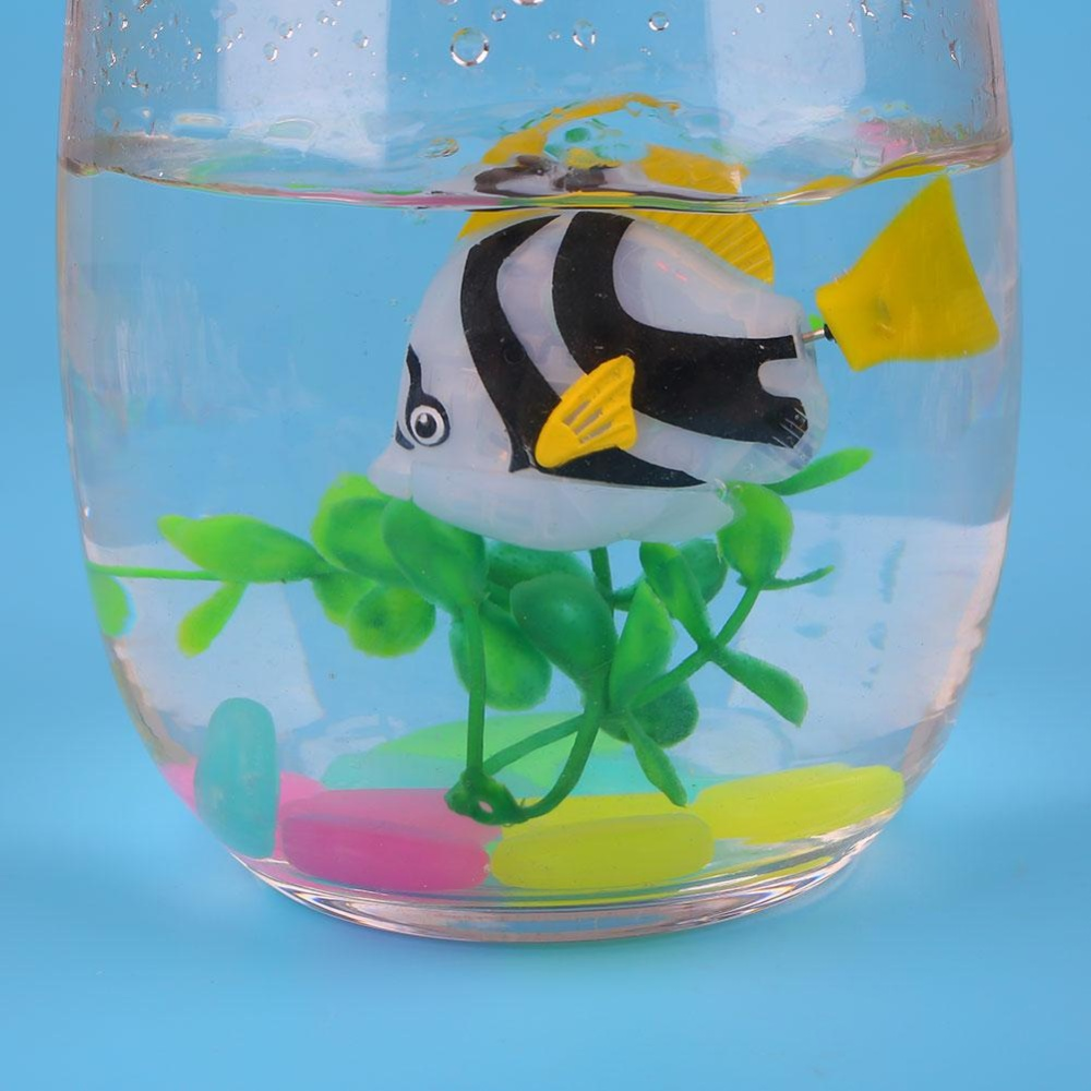 Luminous Electron Fish Power-Driven Ornamental Fish FishbowlDecoration Colorful - intl