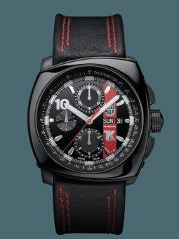 Luminox Tony Kanaan Valjoux Automatic 1181 Series - Jam Tangan Pria - Hitam
