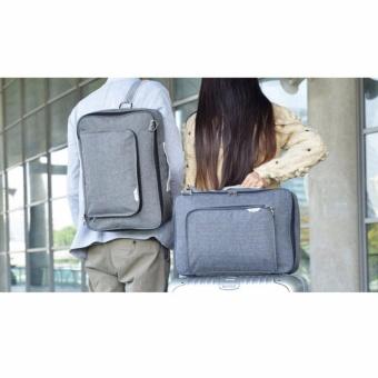 Lynx Tas Koper Duffel Business Travel Bag Ransel Selempang Sling Waterproof Ukuran Besar Luggage Travel Bag