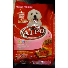 Makanan Anak Anjing Alpo 1,3kg - Beef and Vegetable Flavor