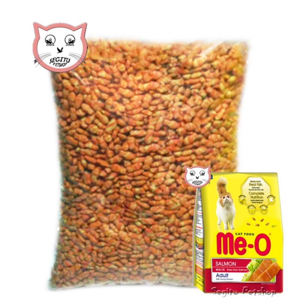 Makanan Kucing Meo Salmon Cat Food Me-O Repack 500 Gram