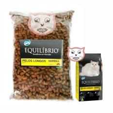 MAKANAN KUCING UNTUK BULU RONTOK EQUILIBRIO PERSIAN CAT FOOD REPACK 500 GRAM