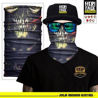 Buff Bandana Masker Serbaguna Elastis Tanpa Sambungan